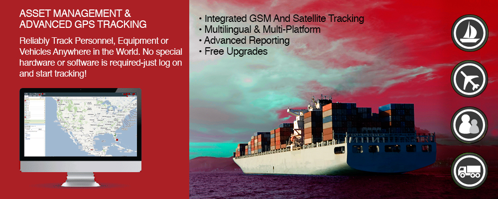 Optimizer GPS tracking marine satellite service