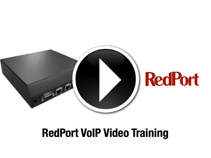 Video Training RedPort Satellite VoIP
