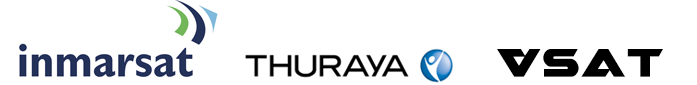 Inmarsat, Thuraya, and VSAT