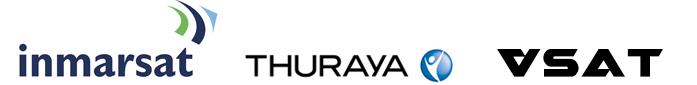 Inmarsat, Thuraya, and VSAT