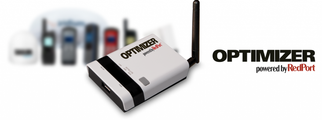 RedPort Optimizer Satellite Wi-Fi Hotspot